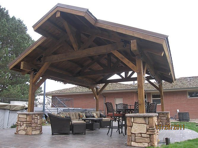 Pavilions Post and Beam Structures Gallery | Sand Creek Post & Beam