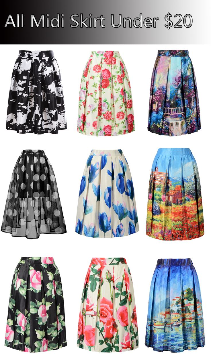 All kinds of midi skirts from #Choies.com suitable for the autumn and winter!come and get one for your party or dating!