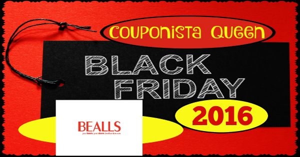 Check out this Black Friday ad from #Bealls and plan your attack with CouponistaQueen.com #BlackFridayAdScan #BlackFridayDeals #BlackFriday