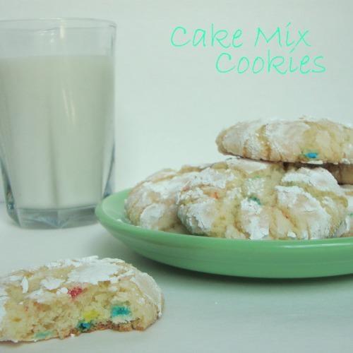 Cake Mix Cookies | Cake, Pie, Cookies...Oh, My! Desert Time! | Pinter ...