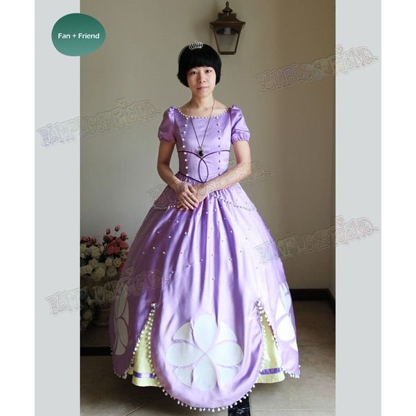 disney sofia the first cosplay princess sofia costume set 336 liked on - The First Halloween Costumes