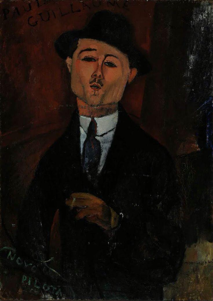 Портрет Поля Гийома 1915