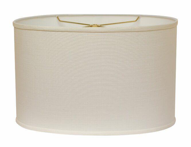 Linen Drum Lamp Shade Spider Lamp Shade Drum Lampshade Lamp