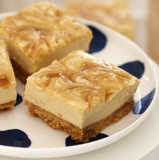This Salted Caramel Cheesecake Slice is so quick and easy to prepare... AND it's totally addictive! Best of all, it's completely no-bake!