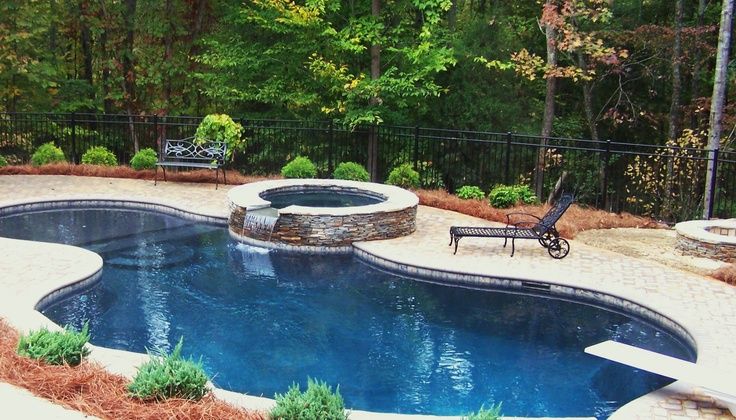 """Simple Lagoon Style Pool!! 