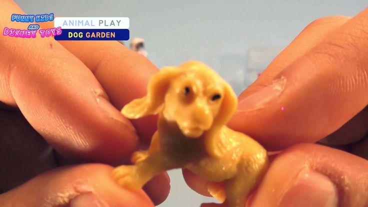 왈왈!!귀여운 6마리 강아지 장난감 뜯어보고 밥주기 Cutest Puppy playset Compliation Unboxing b...