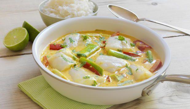 Torsk er allsidig mat og kan brukes til mye. Hvorfor ikke prøve en ny variant i høst? Torsk i panne er en varm velsmakende middagsrett med et deilig hint av østen.