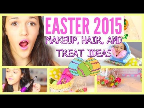 Easter 2015- Makeup, Hair, and Yummy Treat Ideas!! - http://47beauty.com/easter-2015-makeup-hair-and-yummy-treat-ideas/     ❤Open me for smiles ❤ CAN WE GET TO 400 LIKES?! ツ Helloo beautiful people! ✌ In this video I'm going to be showing you all a super cute makeup tutorial, lazy day hairstyle, and 2 yummy, delicious, and easy easter treats. These are perfect substitutes for candy in easter eggs. Youtubers like Bethany Mota, Stilababe09, Mylifeaseva, Macb