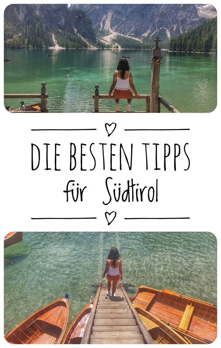 Auf meinem Blog verrate ich dir die besten Insider Tipps für deine Reise nach Südtirol!
