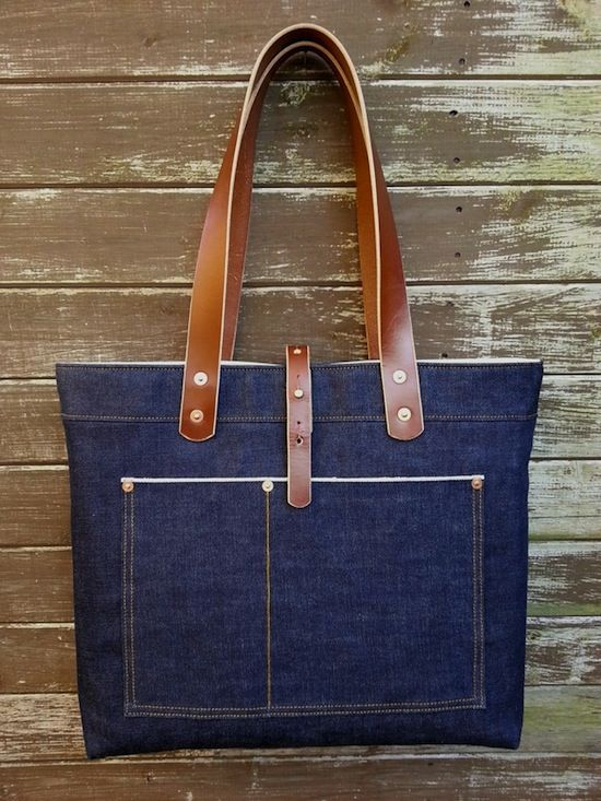 Backyard Denim's latest Tote bag | Keep Fronting