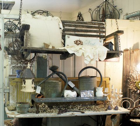 Sweet Vignettes All Over The Store Idea Put Iron Or