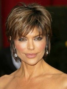 short hairstyles for older women.