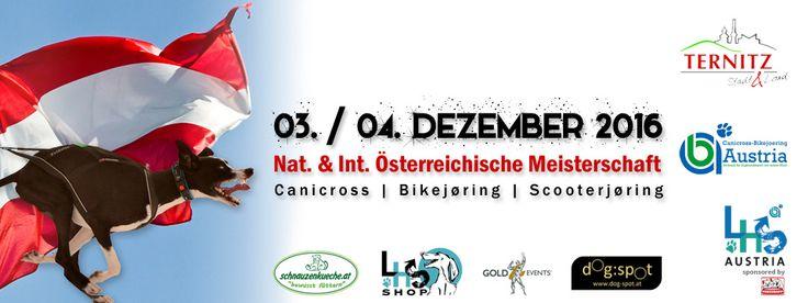 Österreichische Meisterschaft 2016 in Canicross, Bikejöring und Scooterjöring. Austragungsort ist Ternitz (NÖ).