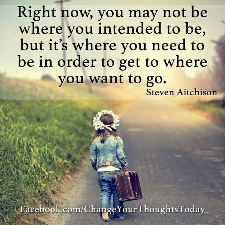 Get to where you want to go...
