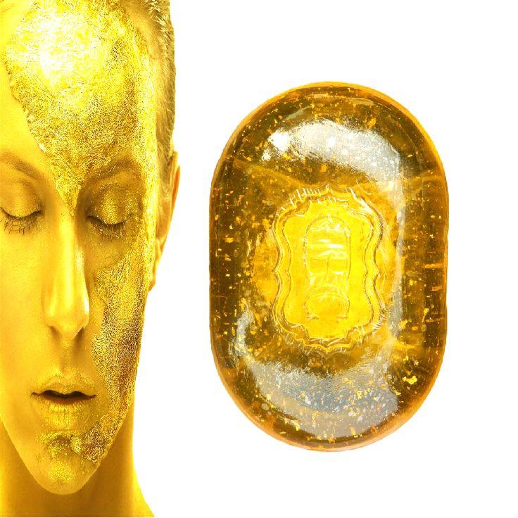 làm sống lại sửa chữa vẻ đẹp 24k vàng mặt làm sạch xà phòng cho khuôn mặt chăm sóc làm trắng da 120g