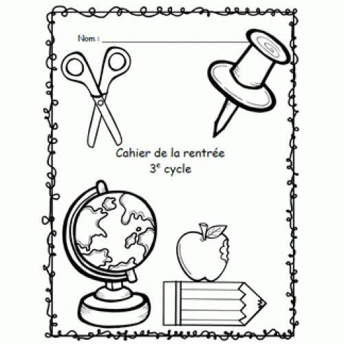 Cahier d'activités de la rentrée 3e cycle