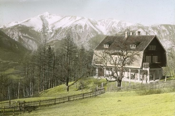 Die Villa Mahler in Breitenstein:  Gustav Mahler starb 1911 - und erlebte so...