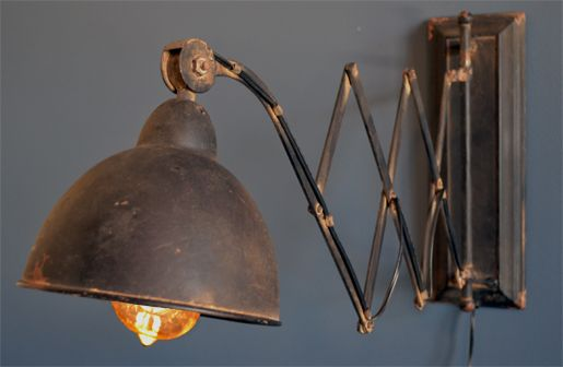 Our Wall Sconces are Industrial Lighting that have an authentic design and amazing shape. These Wall lights are perfect for study spaces, bedrooms, nooks, and just about anywhere else. For more Wall Sconces and Industrial Lighting decor visit, http://www.decorsteals.com/the-industrial-revolution-electric-library-scissor-wall-light.html OR www.facebook.com/DecorSteals  #WallSconces   #IndustrialLighting   #WallLights