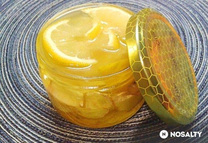 Mézes gyömbérszörp citrommal