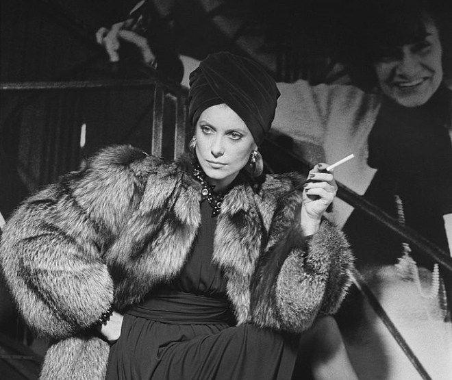 Catherine Deneuve by Helmut Newton-2