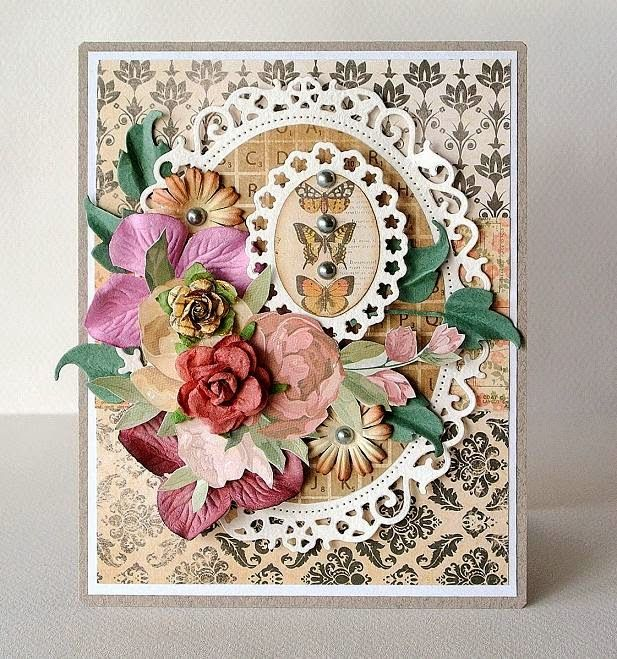 Доброе утро, открытка для бабушки скрапбукинг
