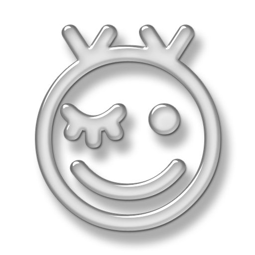 Winking Happy Face Icon #016957 » Icons Etc