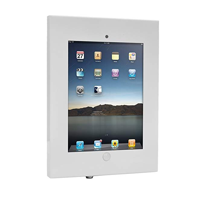 Anti Theft Tablet Security Case Holder 11 Inch Metal Heavy Duty Vesa Wall Mount Tablet Kiosk W Lock And Key Landscape Portrait Mounting For Ipad 2 3 4 Ai Tablet Tablet Holder Anti Theft