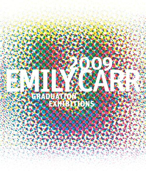 Emily Carr 2009 grad show identity collaborative project