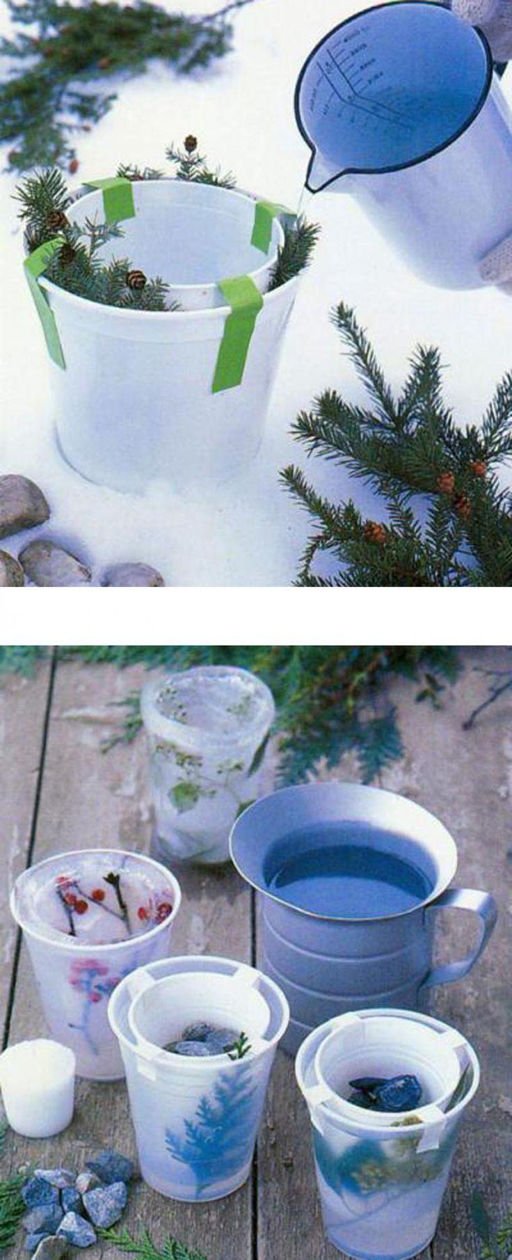 Новогодний декор: ледяные украшения - Ярмарка Мастеров - ручная работа, handmade