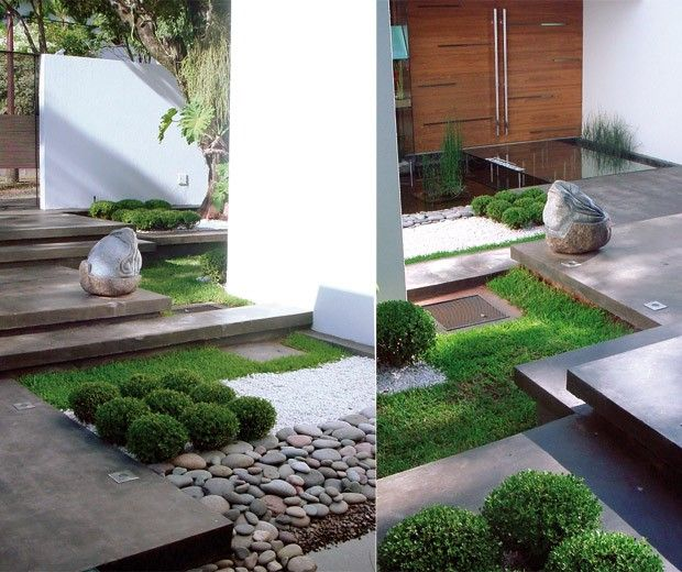 79 best images about paisajismo on pinterest gardens for Decoracion jardines modernos