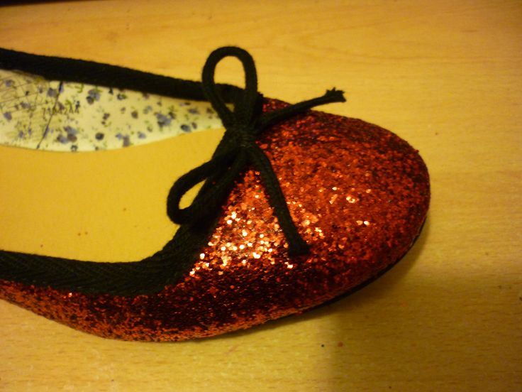 How to Make Glitter Shoes in 9 Steps - Guess who will be making her own purple sparkle shoes for her wedding?