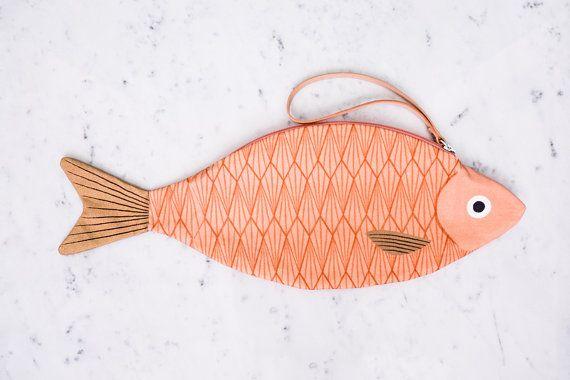 King Salmon - fish tote bag - 100% cotton
