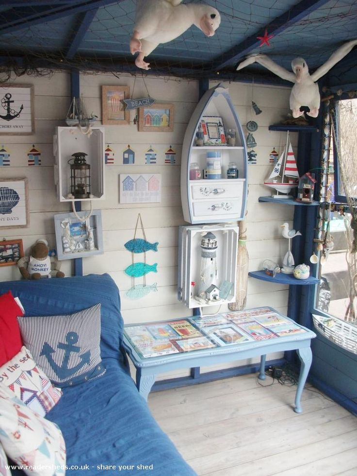 Nautical but Nice is an entrant for Shed of the year 2015 via @unclewilco #shedoftheyear