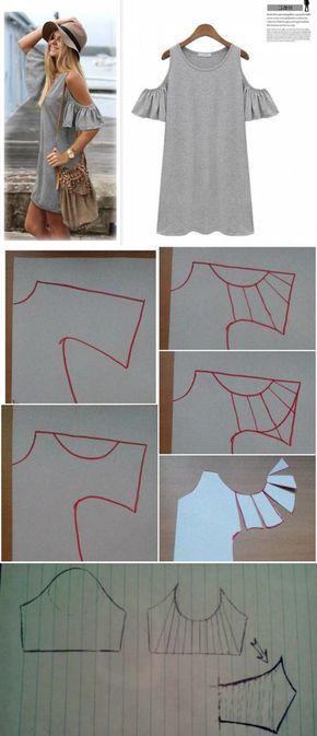 Майка-платье с необычными рукавами / Простые выкройки / ВТОРАЯ УЛИЦА