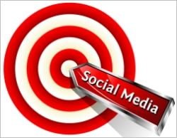 3 ways to target social media for small business - relevant content, participation and quality time.