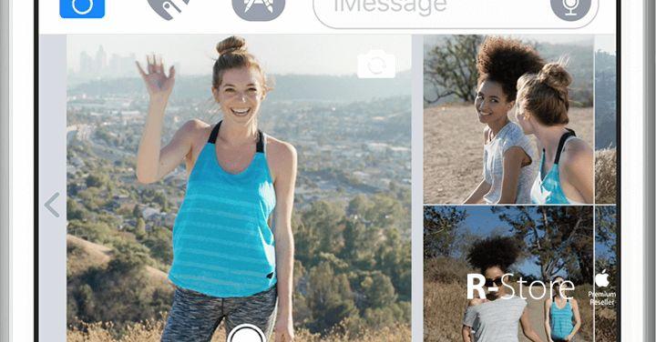 In iOS 10, la più grande rivoluzione riguarda la messaggistica.