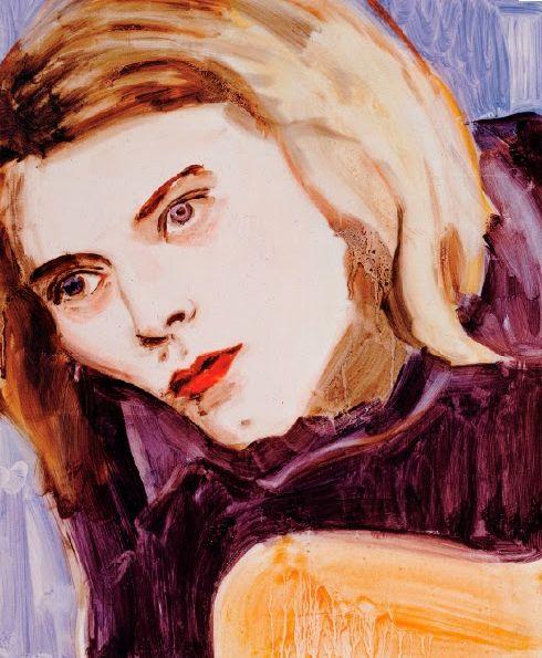 Kurt (1995) by Elizabeth Peyton