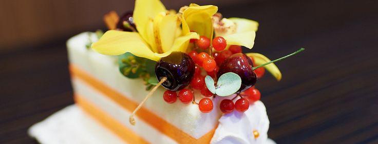 Цветочный торт на день рождения банка