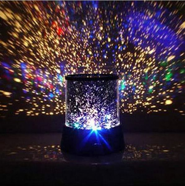 Colourful Stars Cosmos Laser Projector Night Lights For Children #StarMaster