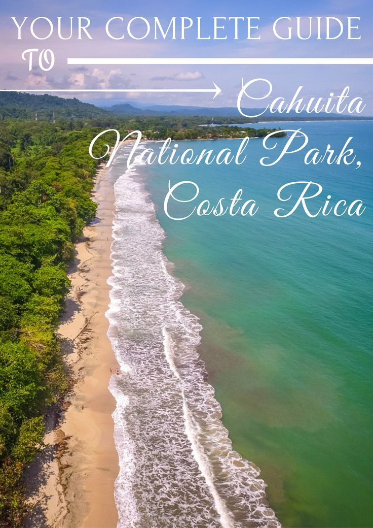 Your complete guide to Cahuita National Park in Costa Rica, an absolute must-visit!