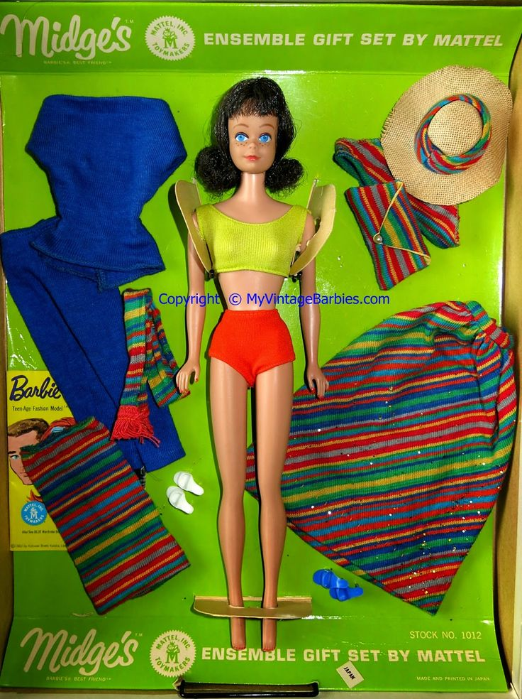 Midge ensemble gift set in box g doll