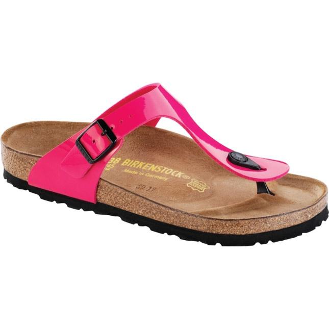 C0jJR0xLq3 GIZEH FLOWER - T-bar sandals - neon pink EIBdtBw