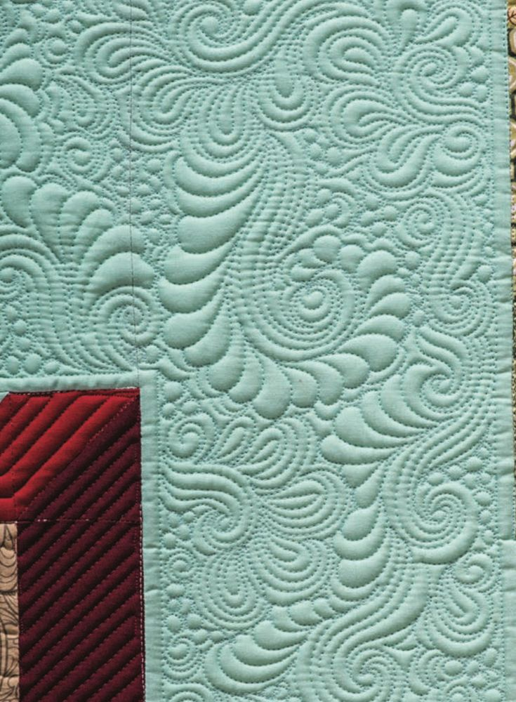 501 best Free Motion Quilting Feathers images on Pinterest Knitting tutorials, Quilt patterns ...