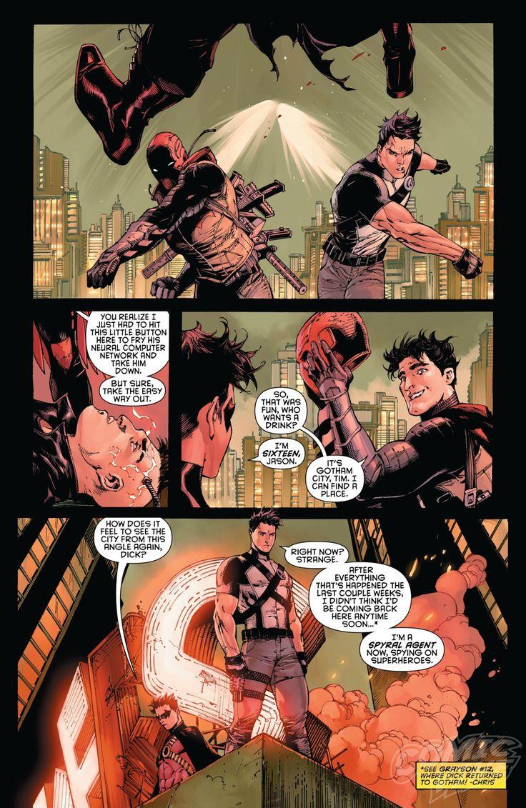Exclusive Preview: BATMAN AND ROBIN ETERNAL #1 - Comic Vine