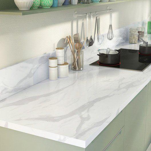 93 best images about cuisine on pinterest plan de - Plan de travail cuisine marbre ...