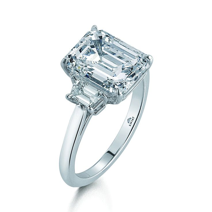 85 best rings clear emerald baguette asscher cut