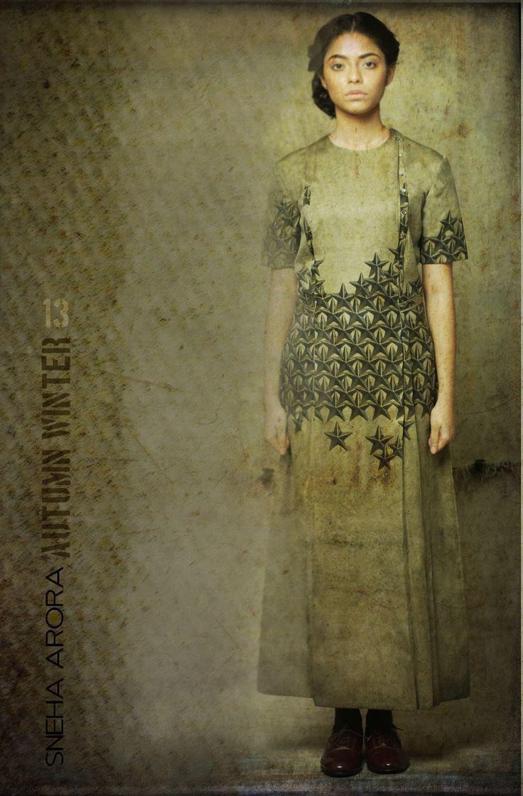 All star print long dress
