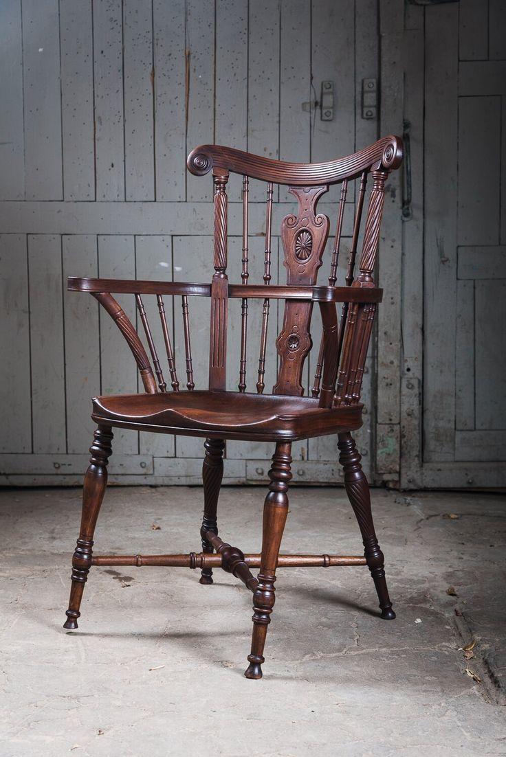 Виндзорский стул после реставрации