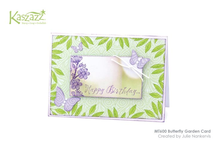 MT600 Butterfly Garden Card