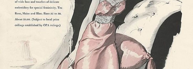 33 Best Fashion Illustrations and Advertisements from the past